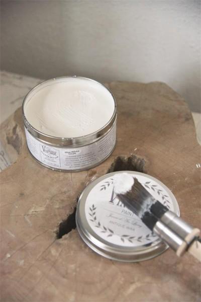 Vintage Wachs - Weiss - 370 ml