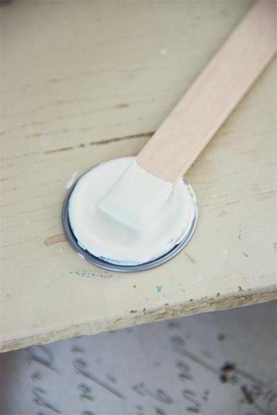 Möbelfarbe - Natural White - 100 ml