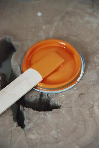 Möbelfarbe - Rusty Orange - 700 ml