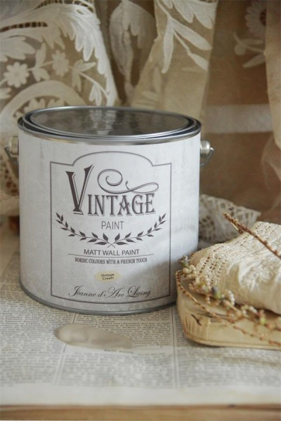 Wandfarbe - Vintage Cream - 2.5 l