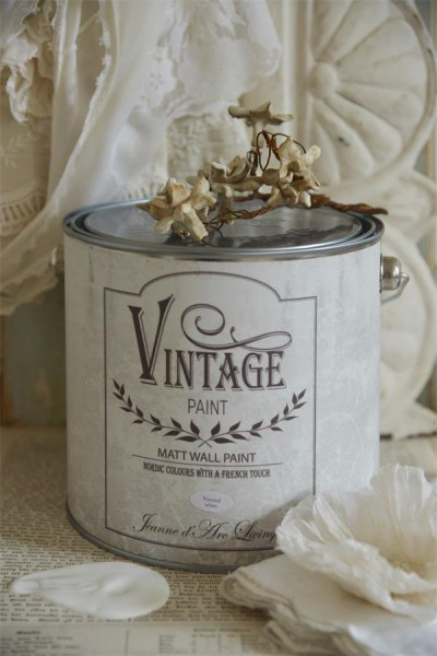 Wandfarbe - Natural White - 2.5 l